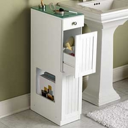 Marching on bathroom organization house on the hill - Bathroom cabinets for small spaces plan ...